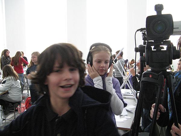 Die KinderReporter unterwegs auf der Kinder-Uni an der Fachhochschule Trier, 2009