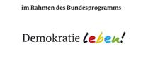 Logo Bundesprogramm Demokratie Leben
