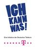 Logo Ich kann was - eine Initiative der Deutschen Telekom