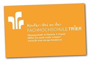Kinder-Uni an der Fachhochschule Trier
